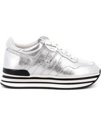 Hogan - H483 Laminated Sneakers - Lyst