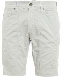 Jeckerson Cotton Bermuda Shorts - Gray