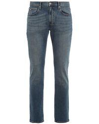 Michael Kors Jeans cinque tasche a gamba dritta Parker - Blu