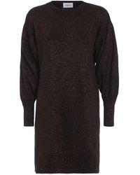 Dondup Brown Wool Dress