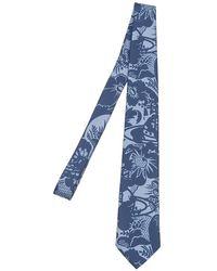 Vivienne Westwood Silk Tie - Blue
