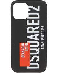 DSquared² Cover per iPhone 12 Pro - Nero
