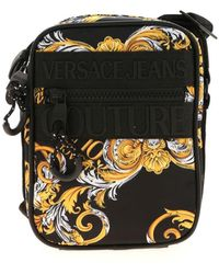 Versace Jeans Couture Black Shoulder Bag