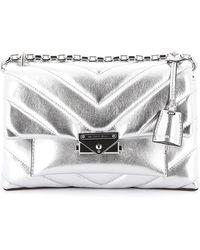 Michael Kors Cece Medium Leather Bag - Metallic