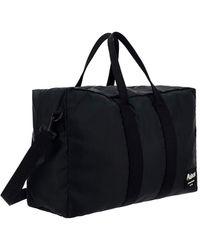 Alexander McQueen Graffiti Logo Patch Duffle Bag - Black