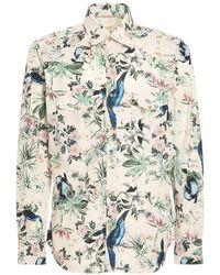 Tintoria Mattei 954 - Floral Printed Shirt - Lyst
