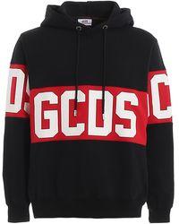 Gcds Logo Lettering Sweatshirt - Black