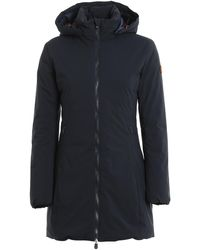 Save The Duck Rainy Padded Coat - Blue