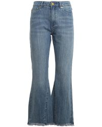Michael Kors Denim Flared Jeans - Blue