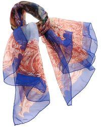 Vivienne Westwood Daphnis And Chloe Scarf In Blue