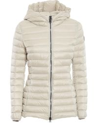 Colmar Hooded Quilted Puffer - White
