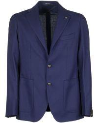 Tagliatore Blazer in lana - Blu