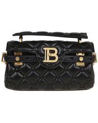 Balmain B-buzz 26 Cross Body Bag - Black