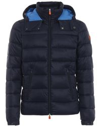 Save The Duck Blue Very Warm Puffer Jacket