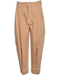 See By Chloé Cargo Trousers In Delicate Pink
