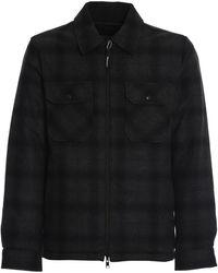 Woolrich - Reversible Wool Padded Shirt - Lyst