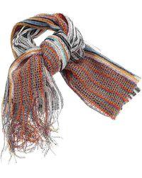 Missoni Sciarpa Multicolore Con Frange