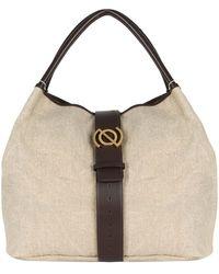 Zanellato Zoe M Tabarro Shoulder Bag - Natural