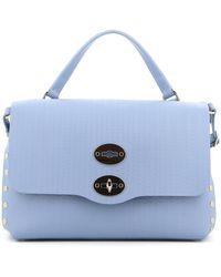 Zanellato Postina S Cachemire Blandine Bag - Blue