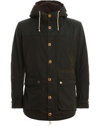 Barbour Game Padded Parka - Green
