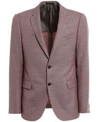 Armani Virgin Wool Blazer - Purple