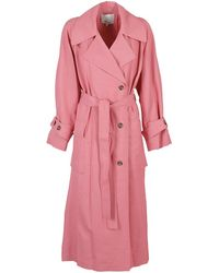 3.1 Phillip Lim Wool And Viscose Trench Coat - Pink
