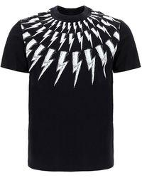 Neil Barrett T-shirt con stampa - Nero