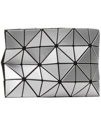 Bao Bao Issey Miyake Lucent Clutch In Silver Colour - Metallic