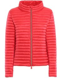 Save The Duck Polyamide Down Jacket - Red