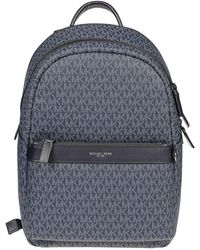 Michael Kors Greyson Eco Leather Backpack - Blue