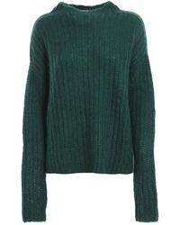 Marni - Emerald Green Mohair Blend Sweater - Lyst