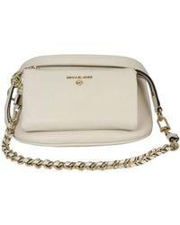 Michael Kors Grainy Leather Belt Bag - Natural