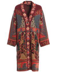 Etro - Andravita Cardi-coat - Lyst