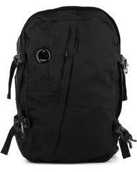 C.P. Company Nylon Travel Bag - Black