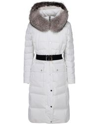 Moose Knuckles Cuffley Parka - White
