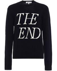 McQ Embroidered Jumper - Black