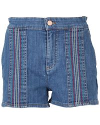 See By Chloé - Shorts in denim - Lyst