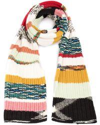 Missoni Striped Patterned Scarf - Multicolour