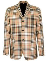 Burberry - Vintage Check Blazer - Lyst