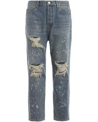 Balmain Cotton Jeans - Blue
