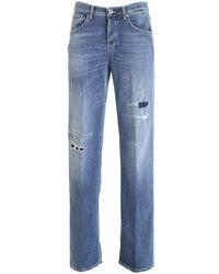Dondup Jacklin Jeans In Blue
