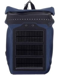 O-range Apolled Solar Navy Backpack - Blue