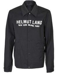 Helmut Lang Giacca Stadium Nera - Nero