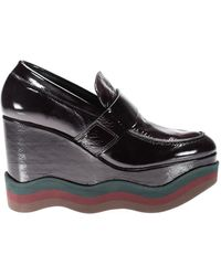Paloma Barceló Rubicone Therry Wedges - Black