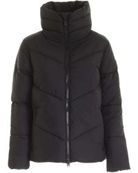 Save The Duck Quilted Padded Puffer Jacket - Black