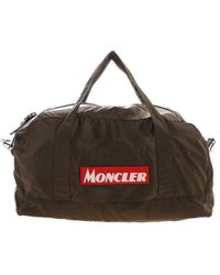 Moncler Nivelle Handbag In Army Green Color