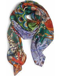 DSquared² Silk Crepe Stole - Multicolour