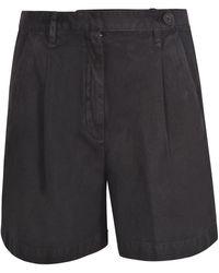 Massimo Alba Sardina Shorts In Black