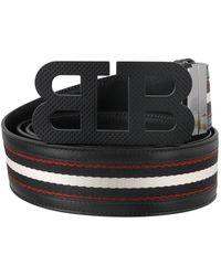 Bally Mirror Belt - Black