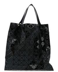 Bao Bao Issey Miyake Shopper Prism grande nero lucido